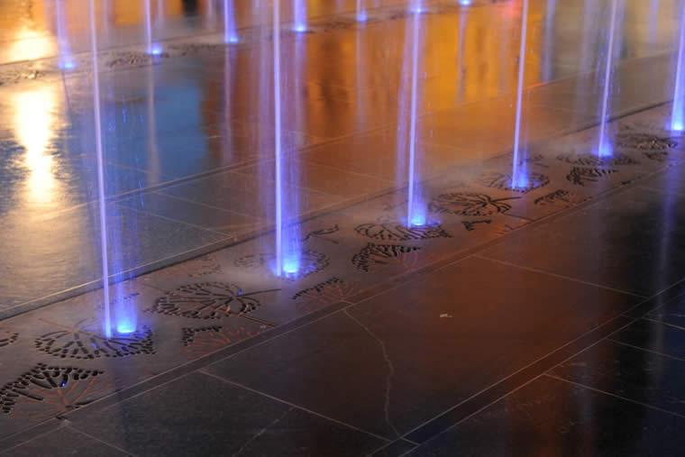 LED verlichting, Fontein op maat